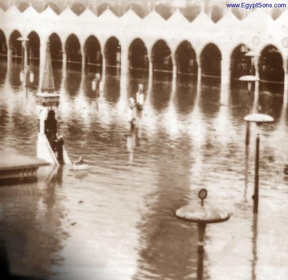 flood in masjid