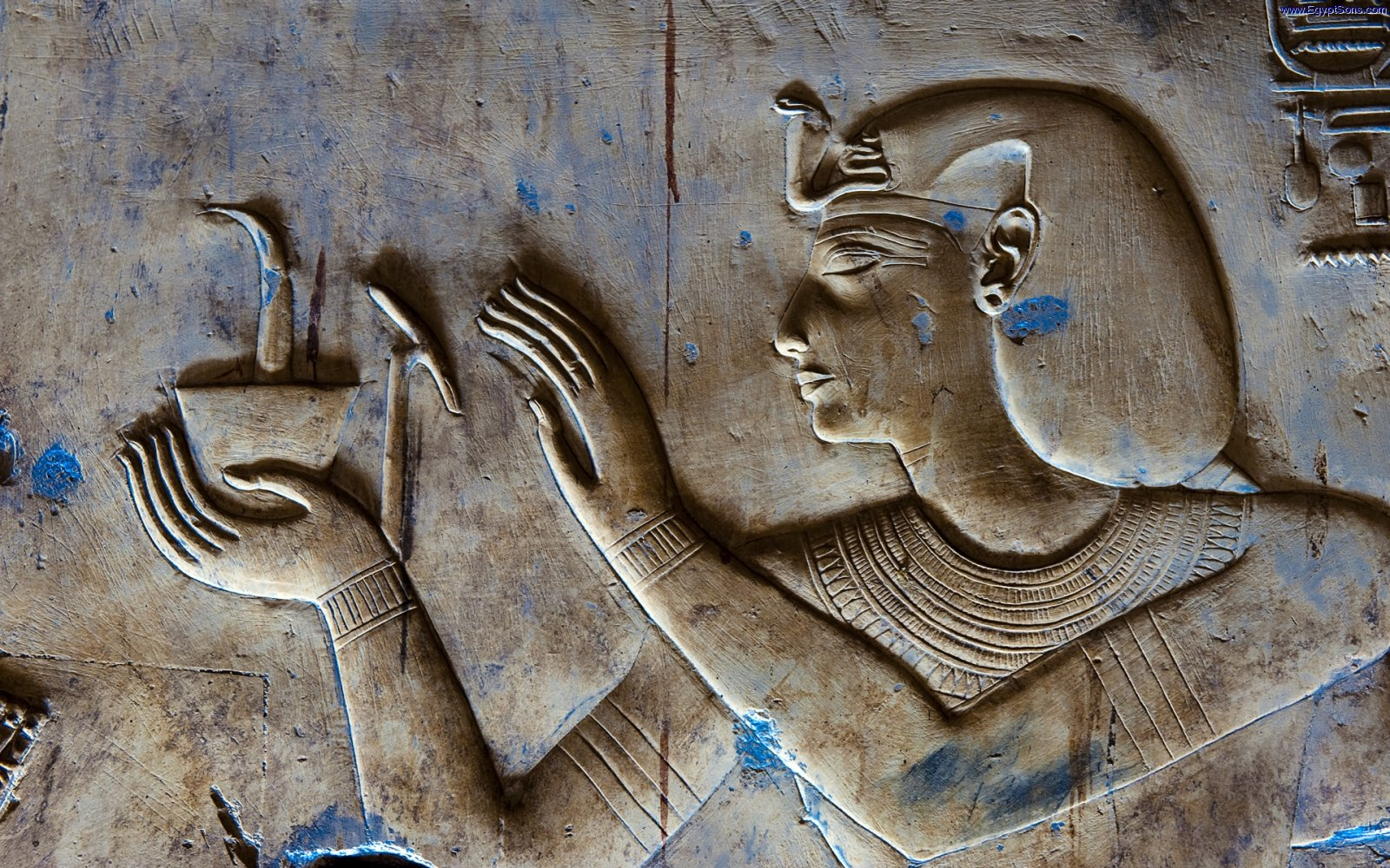 Relief in Temple of Seti I