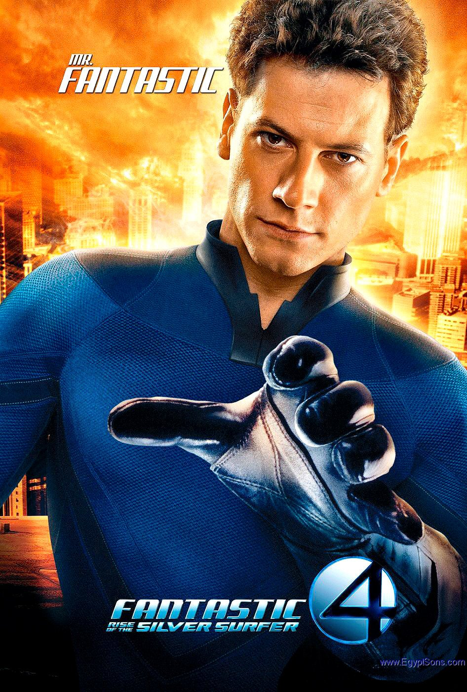 Mr. Fantastic in Fantastic Four Movies