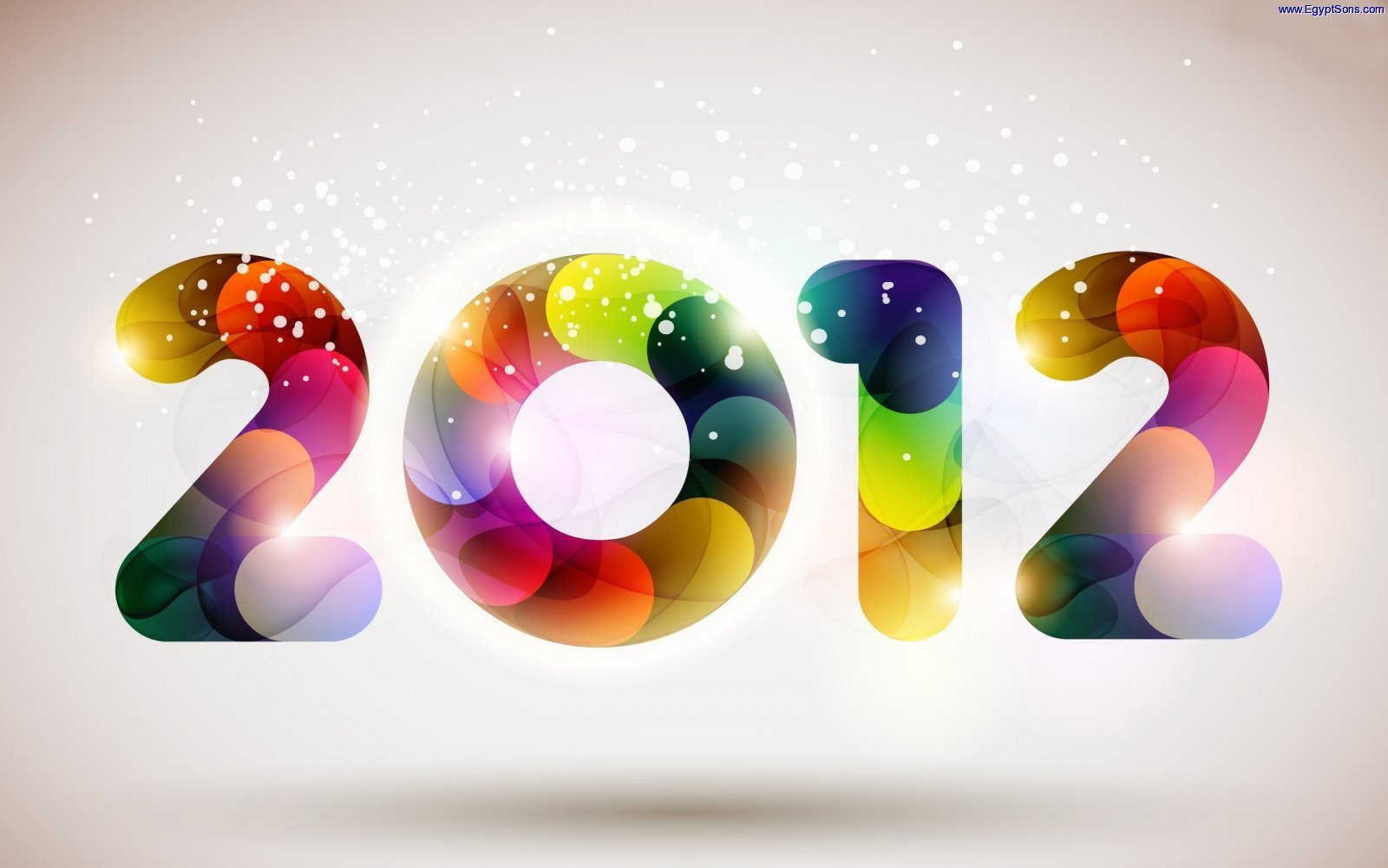 Happy New Year 2012 Widescreen HD Wallpaper