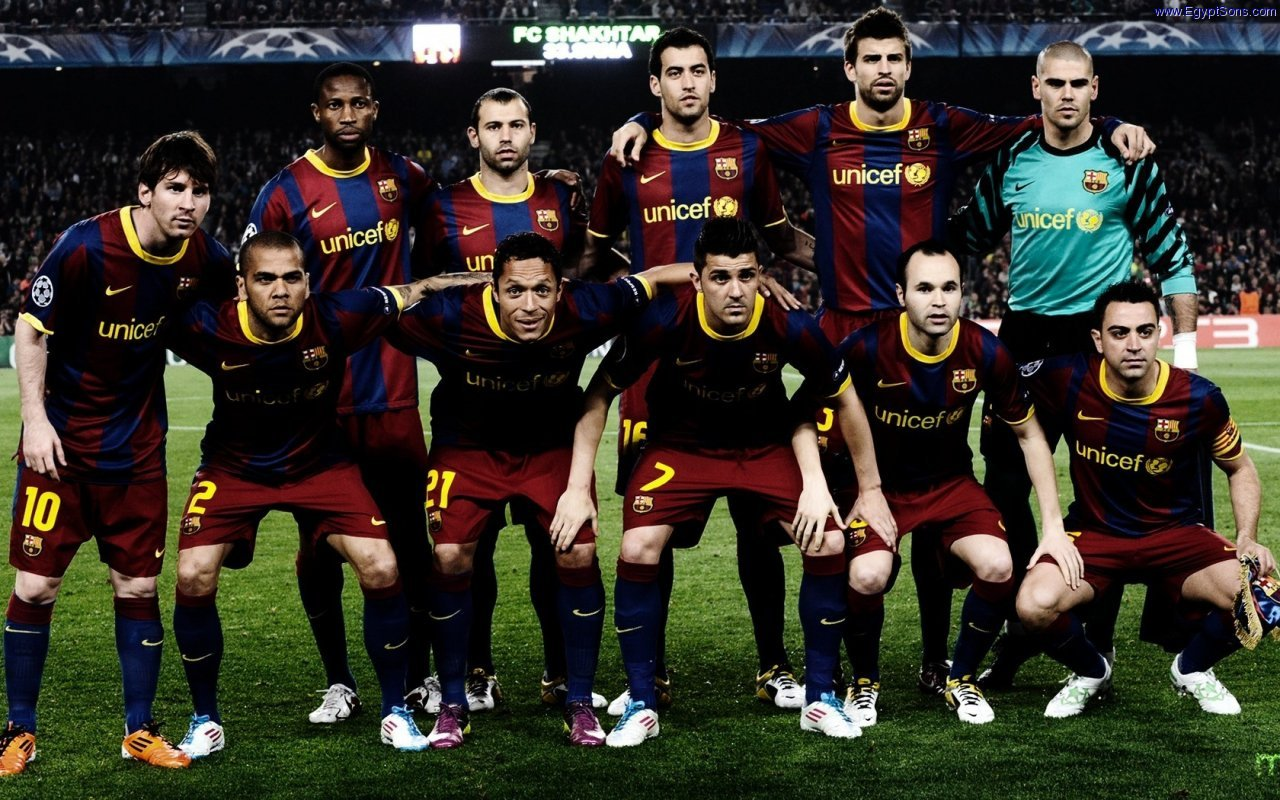 The Aliens Barcelona FC Team